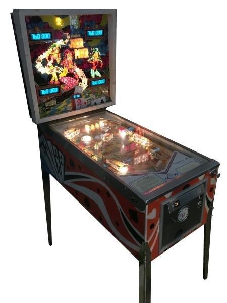 25¢ Gottlieb Joker Poker Pinball Machine