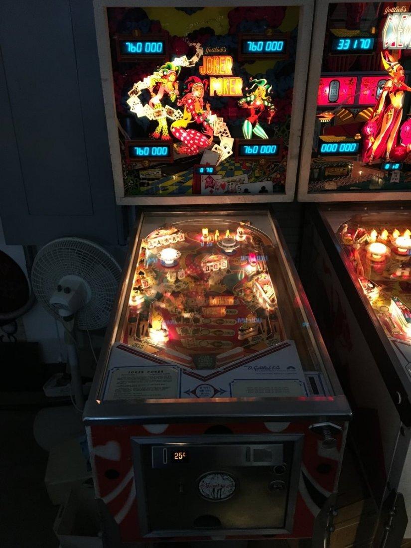 25¢ Gottlieb Joker Poker Pinball Machine - 2