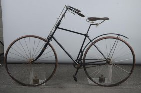 1891 Pacemaker Hard Tired Safety Bicycle