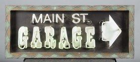 Main St. Garage Neon Sign