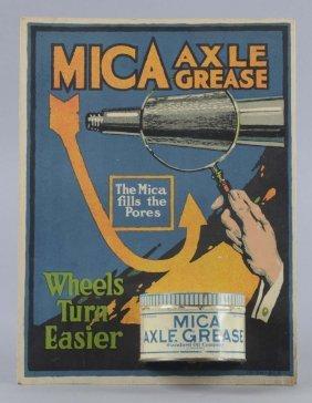 Mica Axle Grease Countertop Display