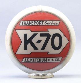 """K-70 Transport Service 13-1/2"""" Globe Lenses"""