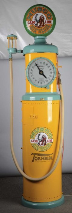 Tokheim Model #850 Clockface Gas Pump