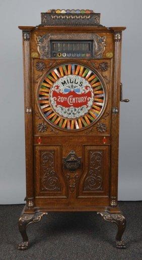 5¢ Mills 20th Century Upright Slot Machine