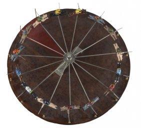 Spinning Horse Race Wheel