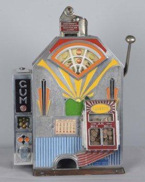 1¢ Jennings Triple Duke Vender Slot Machine