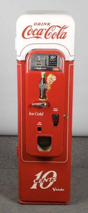25¢ Vendo Model 44 Coca Cola Vending Machine