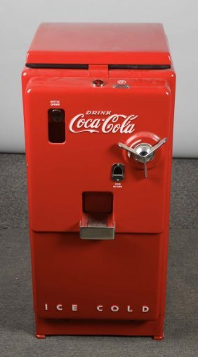 10¢ Cavalier C-27 Coca Cola Soda Vending Machine