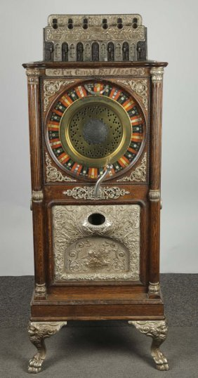 25¢ Caille Eclipse Upright Slot Machine
