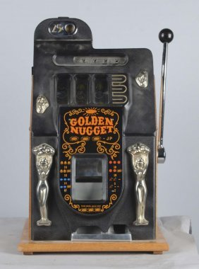 25¢ Mills Golden Doll Slot Machine