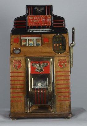 5¢ Jennings Victory Chief Slot Machine