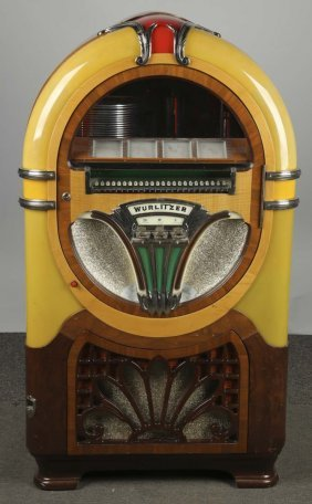 Multi Coin Wurlitzer Model 750 Phonograph Jukebox