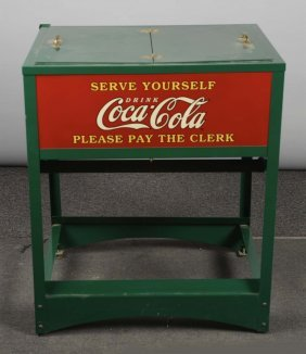 Reproduction Coca Cola Ice Chest