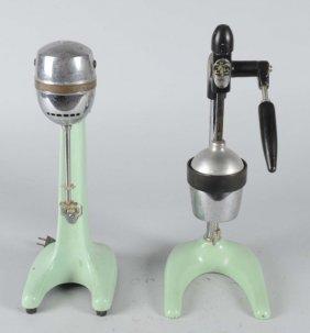 Lot Of 2: Soda Fountain Countertop Machines