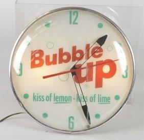 Original Vintage Bubble Up Round Pam Clock