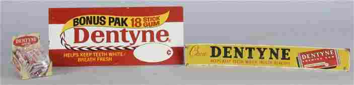 Lot Of 3: Dentyne Chewing Gum Advertising Pieces