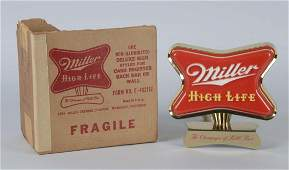 Miller High Life Red Advertising Sign