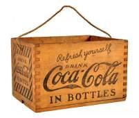 1920's Coca - Cola Wooden Carrier.