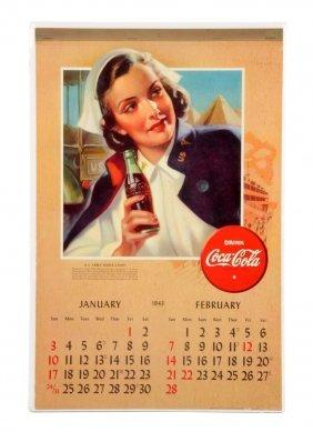 1943 Coca - Cola Calendar.