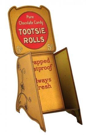 1910 - 20 Tootsie Rolls Candy Dispenser.