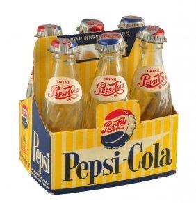 161307841950's Pepsi - Cola Miniature Six Pack.