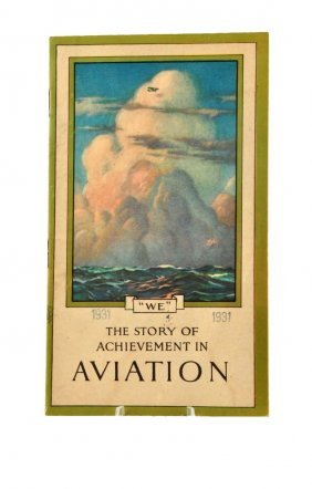 1931 Coca - Cola Story Of Aviation Booklet.