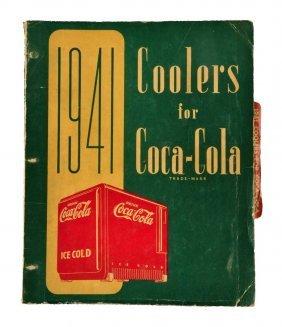 1941 Coca - Cola Coolers Book.