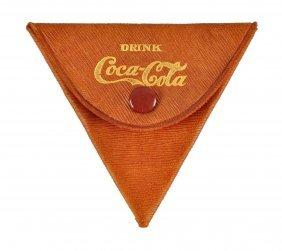 Ca. 1907 Small Coca - Cola Folding Wallet.