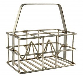 1930's - 40's Heavy Wire Carrier