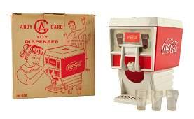 1960's Coca - Cola Toy Dispenser with Box.