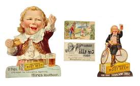 Lot Of 4 Early Hires Root Beer Paper Items