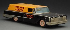 Scarce Japanese Friction Ford Standard Coffee Car.
