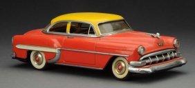 Japanese Tin Litho Friction 1954 Maursan Chevy.