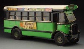 Contemp. Scratch Built English Green Line Bus.
