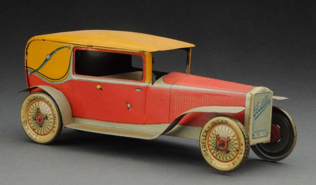 Italian Ingap Tin Litho Wind-Up Balilla Car.