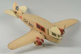Tekino Tin Litho Rescue Airplane.