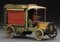 German Lehmann Tin Litho WindUp IHI Auto Toy