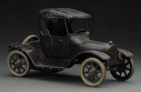 German Tin Litho Wind-up Bing Coupe Automobile.