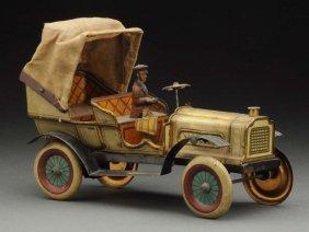German Issmayer Tin Litho Phaeton Automobile.