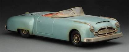 German Tin Litho Wind-Up Packard Convertible Coupe