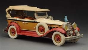 Contemporary Cast Iron Packard Convertible Auto
