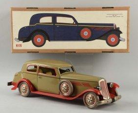 Contemporary Tin Wind-up Paya Automobile Toy.