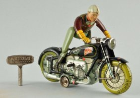 German Arnold Mac 700 The Motorcyclist Toy.