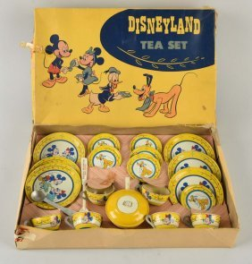 Chein Walt Disney Disneyland Tea Set.