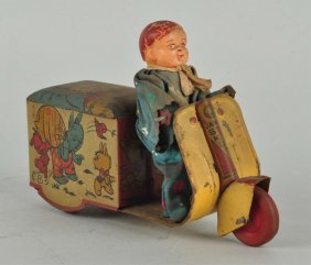 Early & Unusual Indian Scooter Toy.