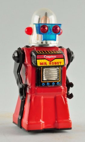 Japanese Cragstan Battery-operated Mr. Robot Toy.