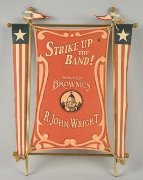 R. John Wright Brownie Banner.