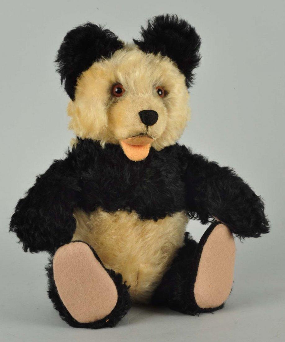 Steiff's Early Postwar Fully Jointed Panda Bear.