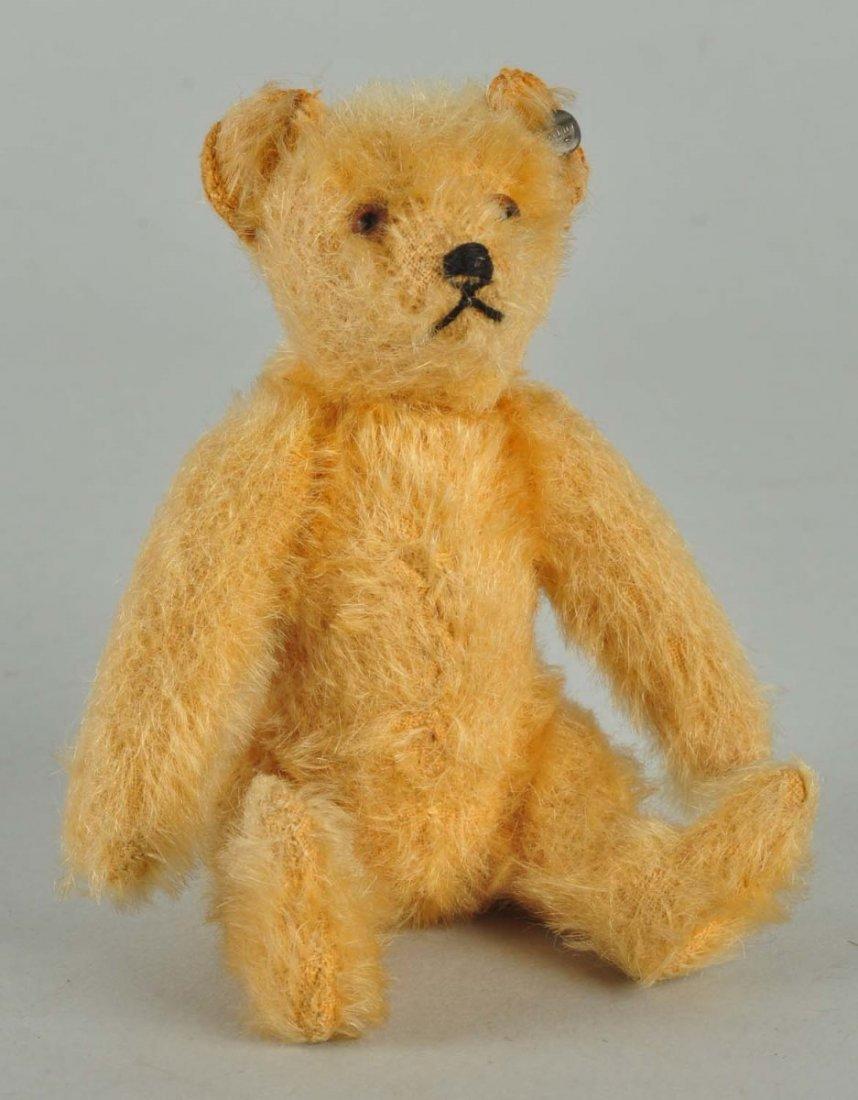 Steiff's Small Blonde Pre-War Mohair Bear with ID.