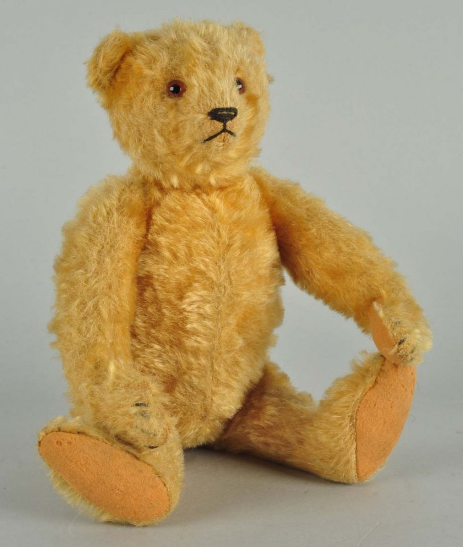 Steiff's Medium Blonde Pre-War Mohair Bear With ID